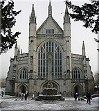 SU4829 : Cathedral west end by Graham Horn
