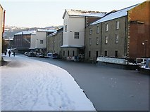 SE1437 : Shipley Wharf on Christmas Day by Stephen Armstrong