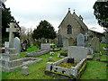 SO3205 : St. Bartholomew's church, Nantyderry by Jonathan Billinger