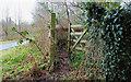 J3268 : Gate, Lagan towpath, Belfast by Albert Bridge