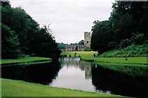 SE2768 : Fountains Abbey by Hugh Chappell