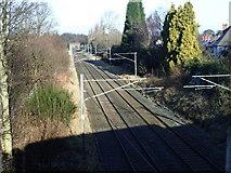 SP1194 : Cross City Line, Wylde Green, Sutton Coldfield by Michael Westley