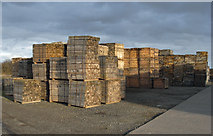TA0623 : Packaged Timber at Old Ferry Wharf, Barrow Haven by David Wright