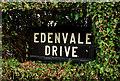 J3774 : Edenvale Drive sign,  Belfast by Albert Bridge