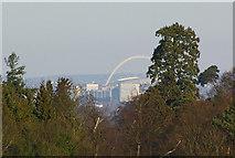 TQ1985 : Wembley Stadium by Ian Capper