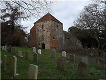 SU8518 : The church tower at St Mary, Bepton by Basher Eyre
