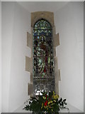 SU8518 : Stained glass window on the north wall at St Mary, Bepton (2) by Basher Eyre