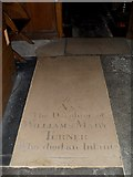 SU8518 : Floor memorial in the chancel at St Mary, Bepton by Basher Eyre