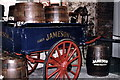 O1434 : Dublin - Old Jameson Distillery whiskey barrel cart by Joseph Mischyshyn