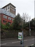 SX9193 : Exeter : Exeter College, Hele Road, Bus Stop Sign by Lewis Clarke