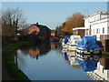 SJ4465 : The Shropshire Union Canal at Christleton by Colin Park