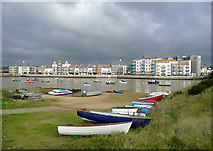 TQ2105 : By the River Adur, Shoreham-by-Sea, West Sussex by Roger  Kidd