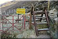 J3125 : Stile by the Ben Crom Reservoir by Rossographer