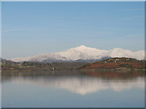 SH5935 : Snowdon from Ynys by Peter Humphreys