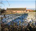TM3696 : Hales Great Barn by Evelyn Simak