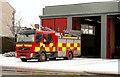 J3774 : Fire appliance, Belfast by Albert Bridge