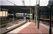 SJ8499 : First Week of Metrolink by Dr Neil Clifton