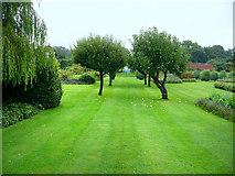 SO4465 : Croft Castle, walled garden by Chris Gunns