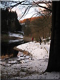 SO0514 : Path along Pontsticill Reservoir by Gareth James