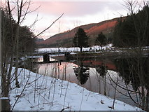 SO0514 : Bridge between Pontsticill and Pentwyn Reservoirs by Gareth James