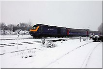 SU5290 : Passenger train at Didcot by Steve Daniels