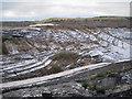 SX8476 : Track into Newbridge ball clay quarry (2) by Robin Stott