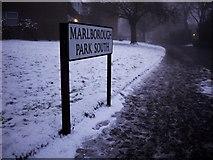 J3271 : Street sign, Marlborough Park South by Rossographer