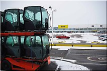 TQ7190 : New Holland Tractor Factory by Glyn Baker