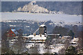TQ2350 : Reigate Heath Windmill in snow by Ian Capper
