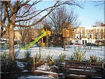 TQ2677 : Playground in Westfield Park Chelsea by PAUL FARMER