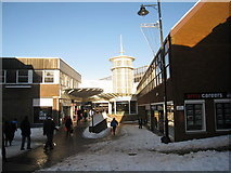 SU6351 : Festival Place entrance by Sandy B