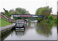 SK2323 : Trent and Mersey Canal at Shobnall, Staffordshire by Roger  Kidd