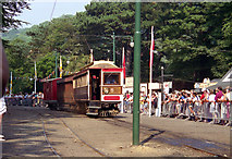 SC4384 : Laxey Station (Snaefell Centenary Parade) by Dr Neil Clifton