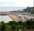 TR3241 : Dover seafront from Dover Castle by David P Howard