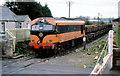 N8667 : Gypsum train near Navan Jct by Albert Bridge