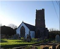 ST0642 : St Decumans Church by N Chadwick
