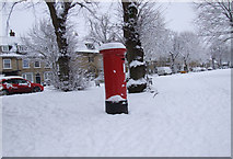 SP3509 : Post box on Church Green by Miranda Hodgson