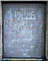 J3125 : Plaque, Ben Crom Reservoir by Rossographer