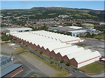 NS4074 : The former Blackburn Aircraft Factory by Lairich Rig