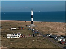 TR0916 : East View from The Old Lighthouse at Dungeness by Neil Theasby