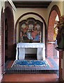 TF9336 : Shrine of Our Lady of Walsingham - Altar by John Salmon