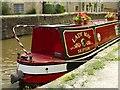 SD9851 : Narrow boat at Skipton by Roger May