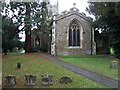 TL1351 : All Saints, Great Barford by Michael Trolove