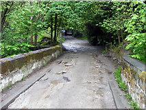 SD9927 : Mayroyd Lane at Crow Nest Bridge by Phil Champion