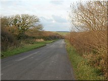SW9963 : Road across Retire Common by Derek Harper