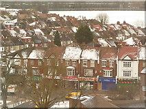 TQ1885 : Wembley: shops on Harrow Road by Chris Downer