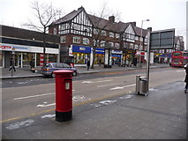 TQ1885 : Wembley: postbox № HA9 54, High Road by Chris Downer