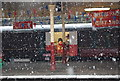SD8010 : Santa Special in the snow, Bury Bolton Street Station by N Chadwick