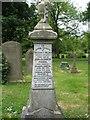 NZ3364 : Grave of William Grieves Turner in Jarrow Cemetery by Vin Mullen