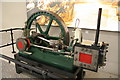 SO8505 : Steam engine, Merrywalks Centre by Chris Allen